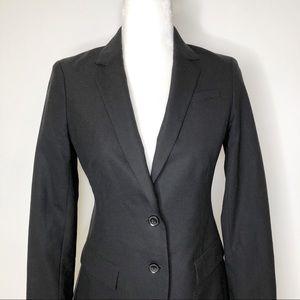Banana Republic black wool 2 button blazer 2